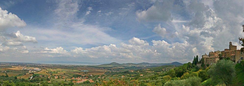 Landschaft Toscana